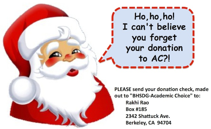 Ho, ho, ho! I can't believe you forget your donation to AC?