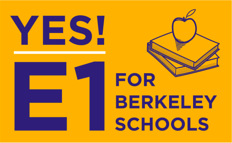 Volunteer Opportunity: E1 Campaign – Berkeley High ASB